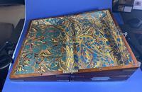 Georgian Solid Mahogany Brassbound Campaign Box (3 of 16)