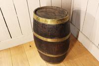 Georgian Oak Brandy Barrel. Stick Stand. Lamp Table (6 of 11)