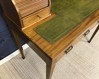Victorian Inlaid Mahogany Writing Desk (10 of 20)