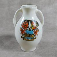 Unusual, W.H. Goss Crested Ware, Heraldic, Souvenir China, Misspelt  Place  NameVase (5 of 6)