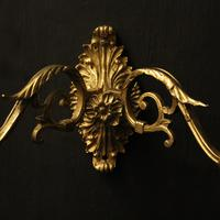 French Pair of Brass Wall Sconces c.1930 (5 of 10)
