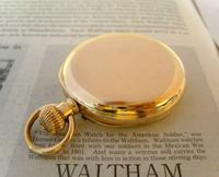 Antique Pocket Watch 1903 Special Waltham 10ct Rose Gold Filled Fwo (6 of 12)