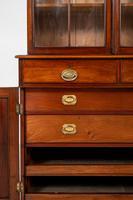 William IV Mahogany Glazed Bookcase (8 of 13)