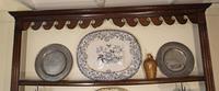 18th Century Oak Cupboard Dresser & Rack c.1760 (9 of 13)