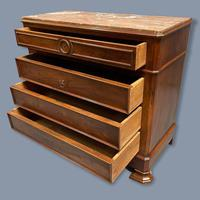 French Charles X Style Marble Top Commode (8 of 9)