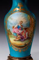Late 19th Century Sevres Style Porcelain Vase Lamp (2 of 5)