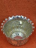 Antique Sterling Silver Hallmarked 1.4oz Sugar Bowl 1892 Sheffield, James Dixon & Sons Ltd (2 of 8)