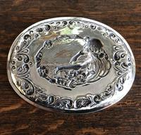 Charles Horner Pre-Raphaelite Silver Tray c1901 (2 of 4)