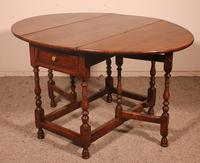 Gateleg Table in Oak -18th Century (4 of 11)