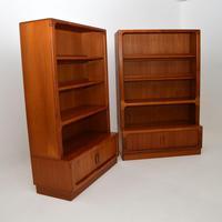 Pair of Danish Vintage Teak Bookcases by Dyrlund (9 of 12)