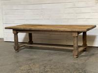 Rare Large & Deep Oak Farmhouse Dining Table (28 of 31)