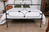 Attractive All Iron Irish Cottage Style Bed (3 of 9)