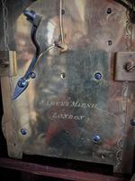 George III Mahogany Fusee Bracket Clock (6 of 6)