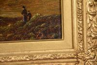 """Oil Painting Pair by Charles Leslie """"Mountain Landscapes"""" (8 of 9)"""