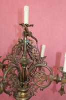 Pair of Antique Church Candelabras (4 of 4)