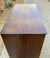 Early 19th Century Oak Chest of Drawers (4 of 4)