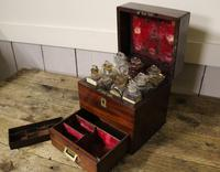 Apothecary Case. Early 19thC. Doctors Medical Chemical Chest. (4 of 8)
