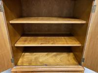 Burr Walnut Cupboard Over Chest (10 of 15)