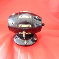 19th Century Lignum Vitae Rotating String Dispenser