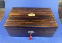 William IV Pewter Inlaid Rosewood Box (14 of 18)