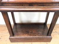 Antique Oak Cupboard on Stand (7 of 13)