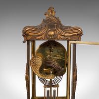 Antique Mantel Clock, French, Gilt Bronze, Ormolu, Brocot Escapement, Circa 1900 (3 of 12)