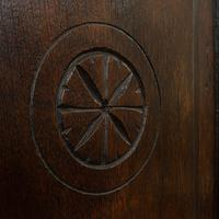 Antique Tea Cabinet, English, Oak, Spice, Apothecary Case, Georgia  c.1800 (12 of 12)