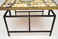 1960's Tiled Top Brass Coffee Table (4 of 18)