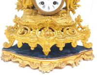 Stunning Quality French Mantel Clock Lady & Lord Figural Mantle Clock. (8 of 9)