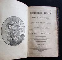1799 1st Edition - Lecture on Heads by George Alex Stevens (2 of 4)