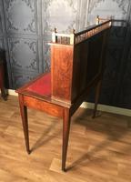 Edwardian Inlaid Rosewood Desk (18 of 23)