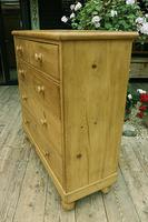 Fabulous & Very Large Old Victorian Pine Chest of Drawers (4 of 8)