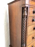 Large Victorian Mahogany Chest of Drawers (9 of 16)