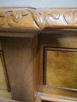Antique Burr Walnut Partners Desk (9 of 12)