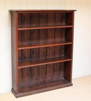 Oak Open Bookcase c.1910 (4 of 10)