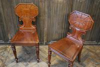 Pair of Fine Quality Regency Hall Chairs (3 of 7)