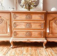 French Antique Style Large Oak Sideboard / Cupboard (8 of 10)