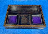 Victorian Rosewood & Tunbridge Ware Inkstand by Thomas Barton (10 of 24)