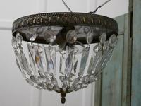 French Empire Style Crystal Basket Chandelier (6 of 19)