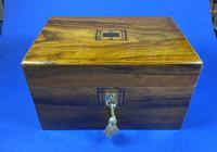 Victorian Olive Wood Jewellery Box (3 of 10)
