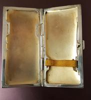 Art Deco Silver & Enamel Cigarette Case (4 of 4)
