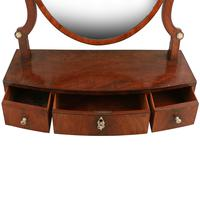 Georgian Bow Front Dressing Mirror (4 of 8)