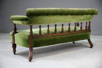 Victorian Upholstered Sofa (5 of 13)