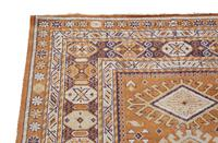 Vintage / Retro Wool Rug Roughly  6' x 4' (6 of 7)