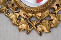 Small English Giltwood Oval Mirror (4 of 8)