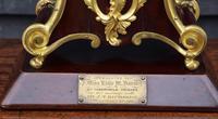 Handsome Late 19th Century Mahogany & Ormolu French Mantel Clock (3 of 7)