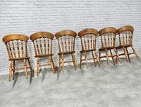 Set of 6 Penny Seat Windsor Kitchen / Dining Chairs (7 of 8)