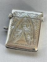 Charming Edwardian Silver Vesta