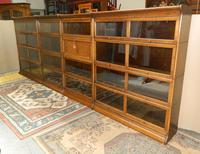 Suite of Oak Stacking Bookcases (2 of 7)