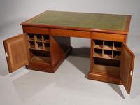 A Good Late Regency Mahogany Partners Desk (3 of 11)